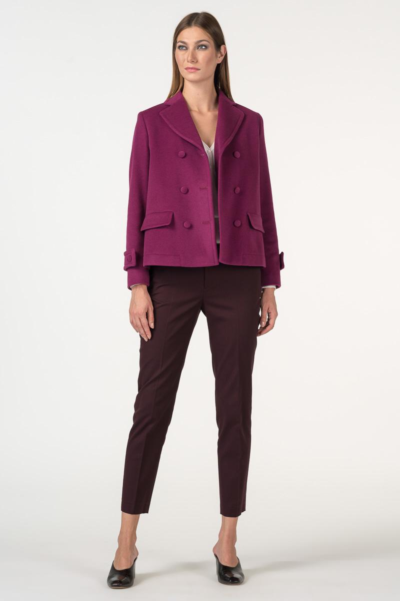 Varteks Purple short coat