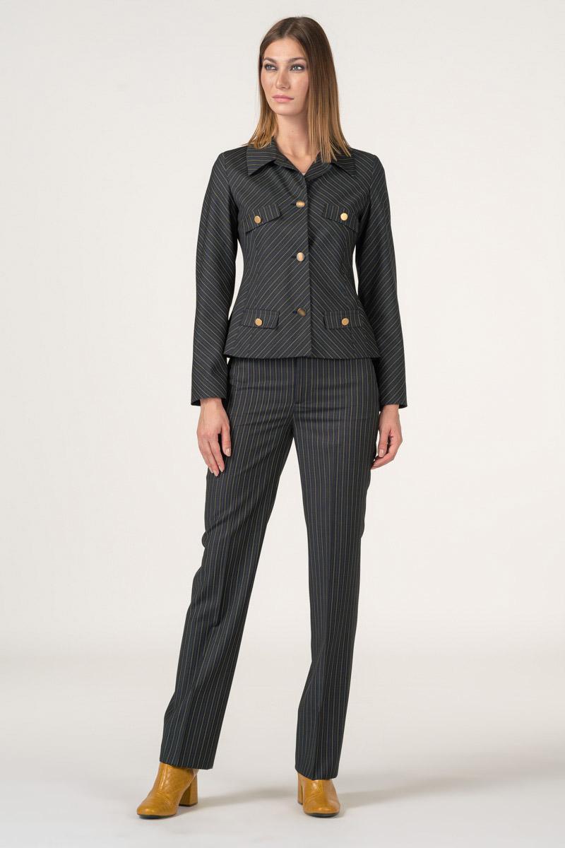 Varteks Kratki ženski sako od odijela tamno sive boje