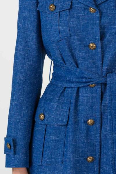 Varteks Lagani kaput otvoreno plave boje