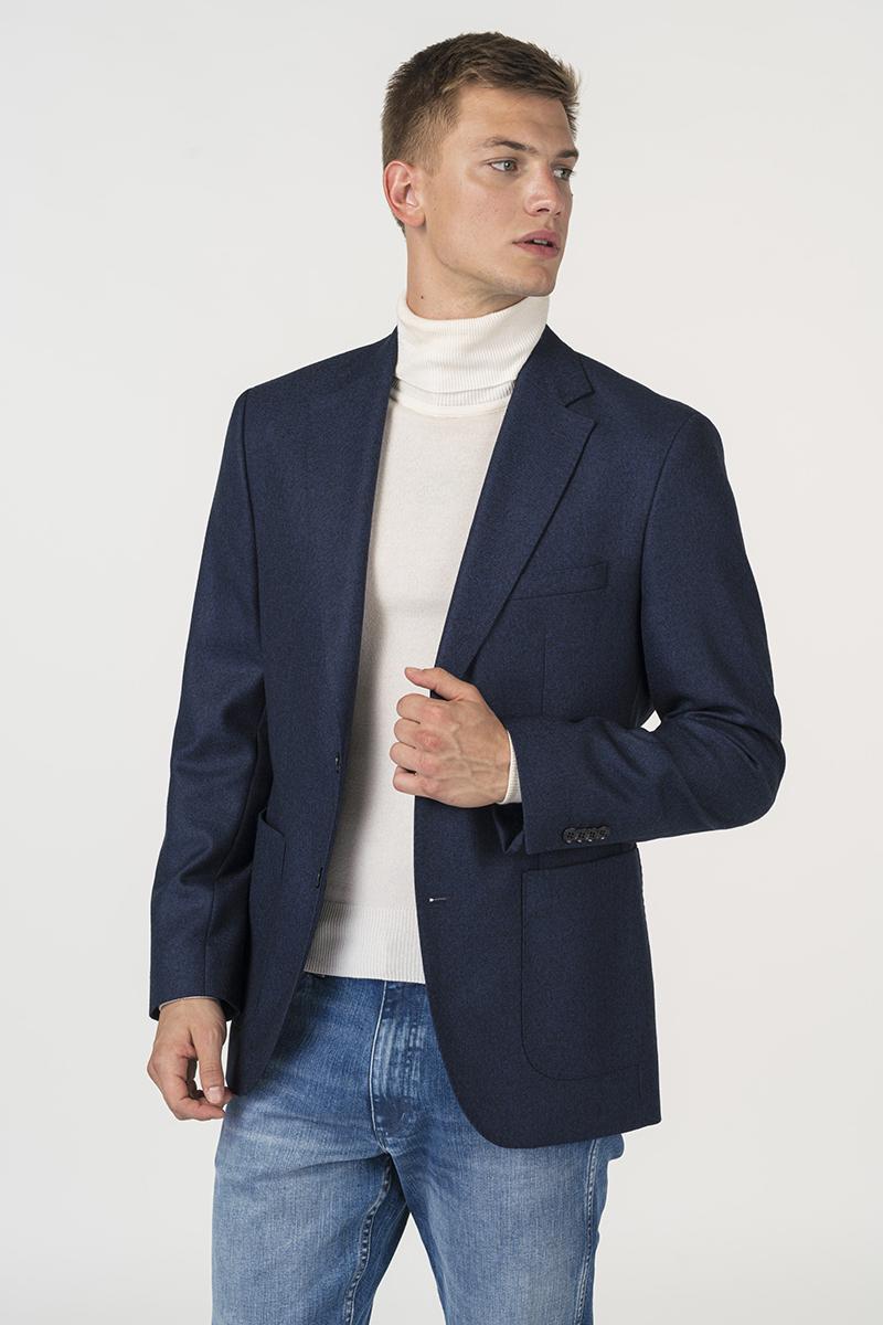 Varteks Men's blazer with micro design in two colors - Regular fit