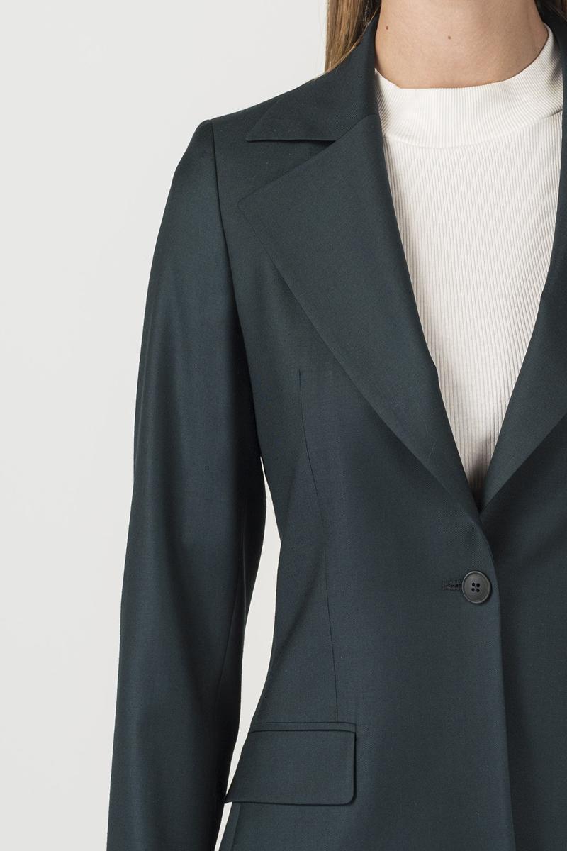 Varteks Dark green women's suit jacket