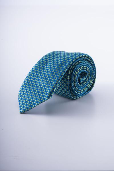 Varteks Svilena kravata plavih tonova
