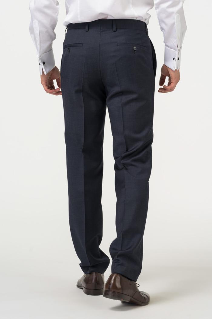 Varteks - Plave muške hlače od odijela - Comfort fit puni stas