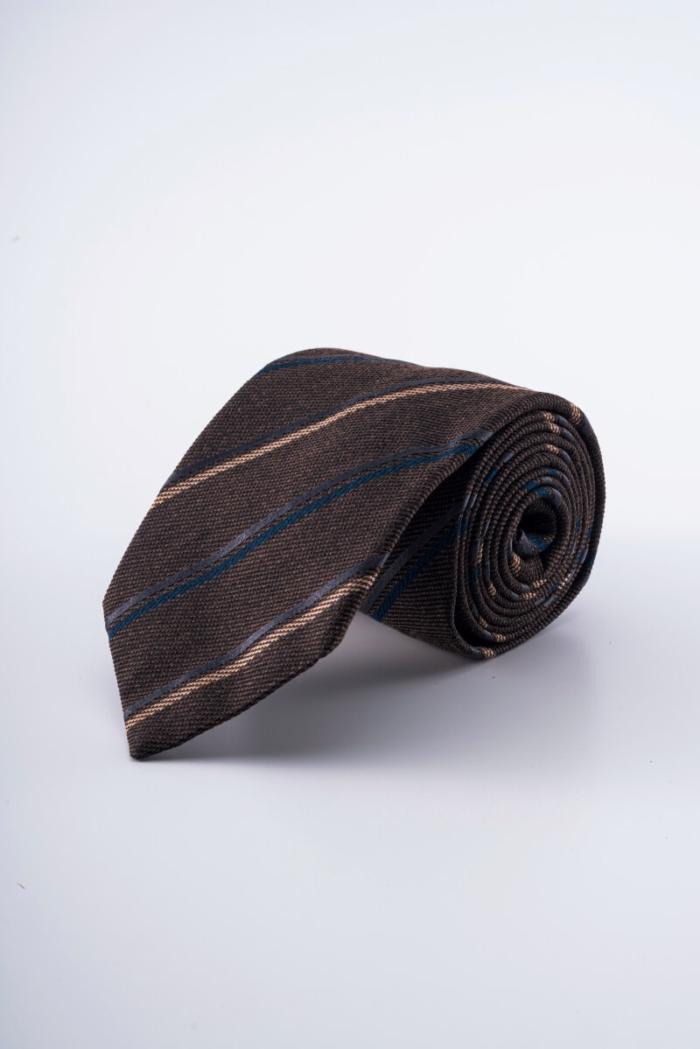 Varteks Kravata u dvije boje s prugama