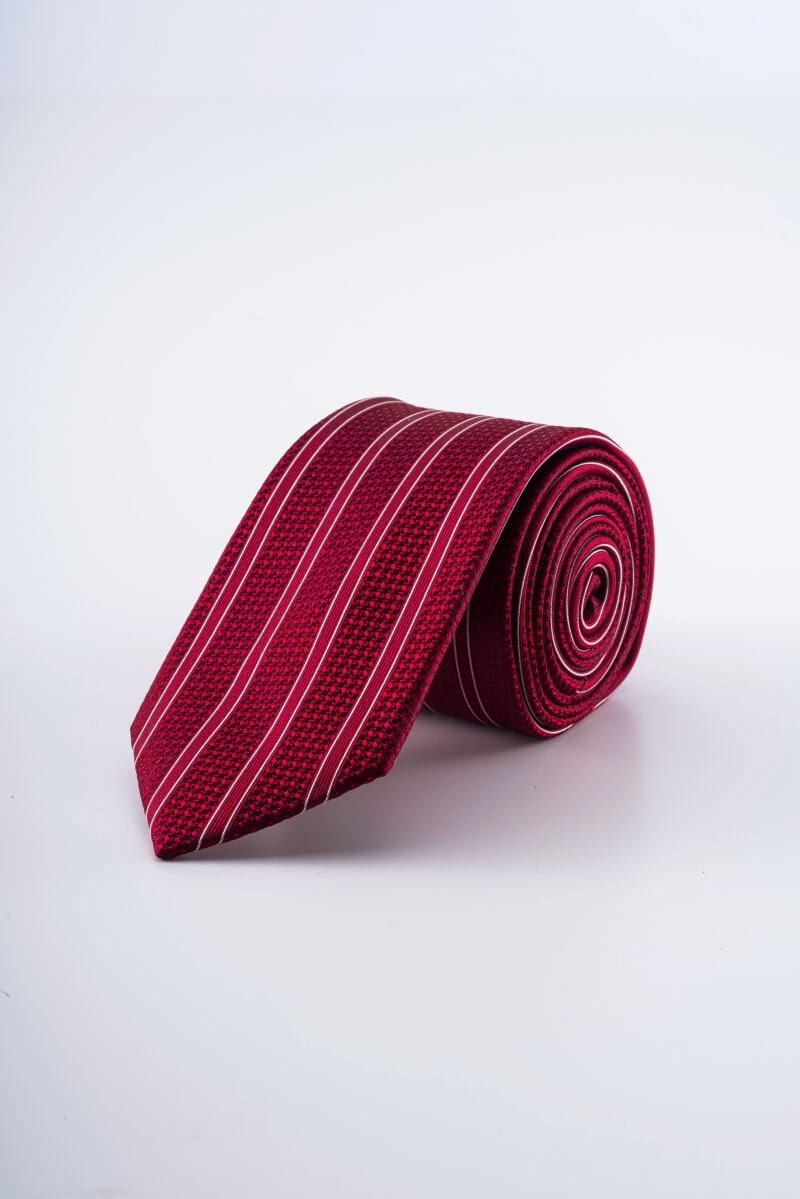 Varteks - Svilena kravata crvenih tonova