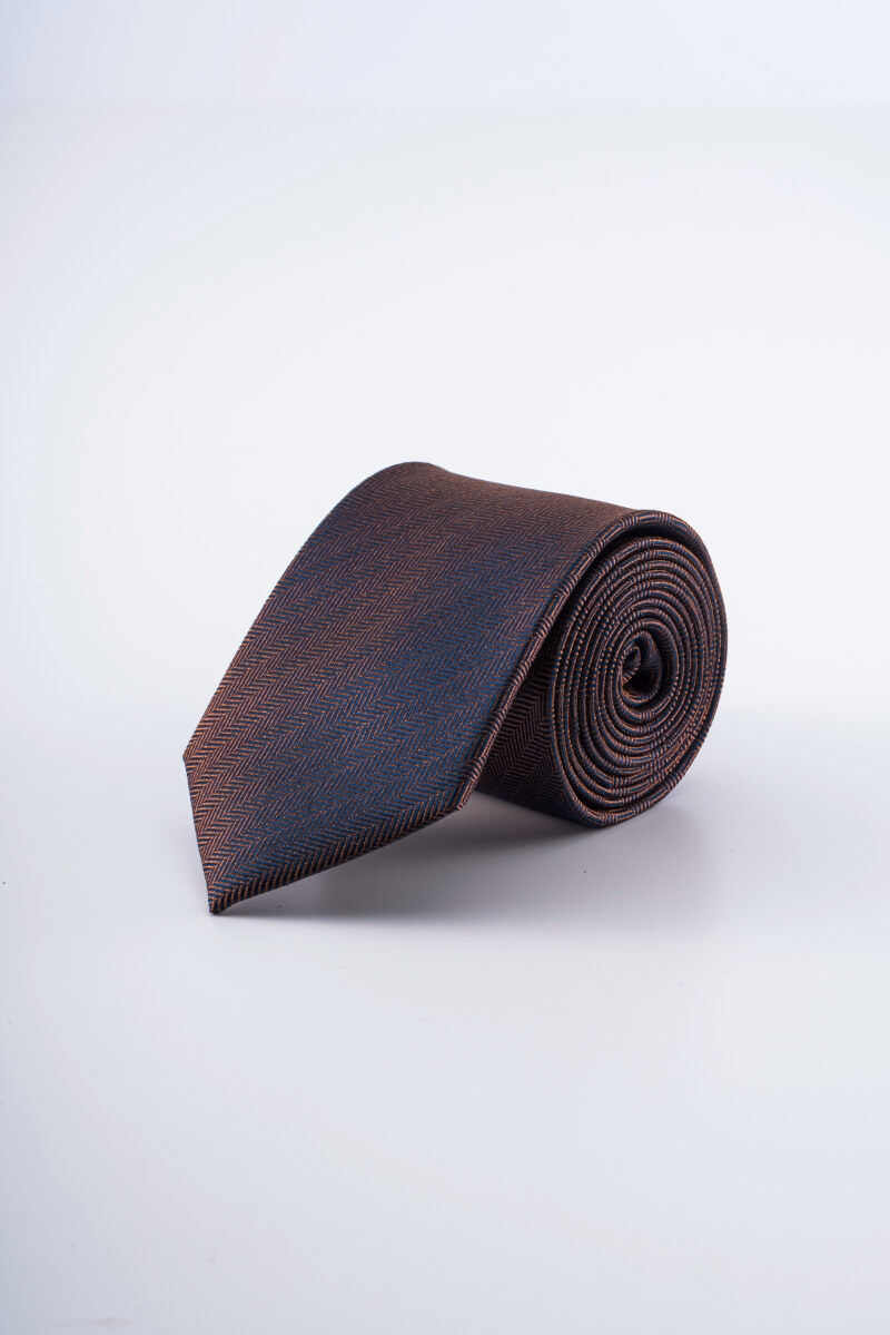 Varteks Svilena kravata smeđe boje