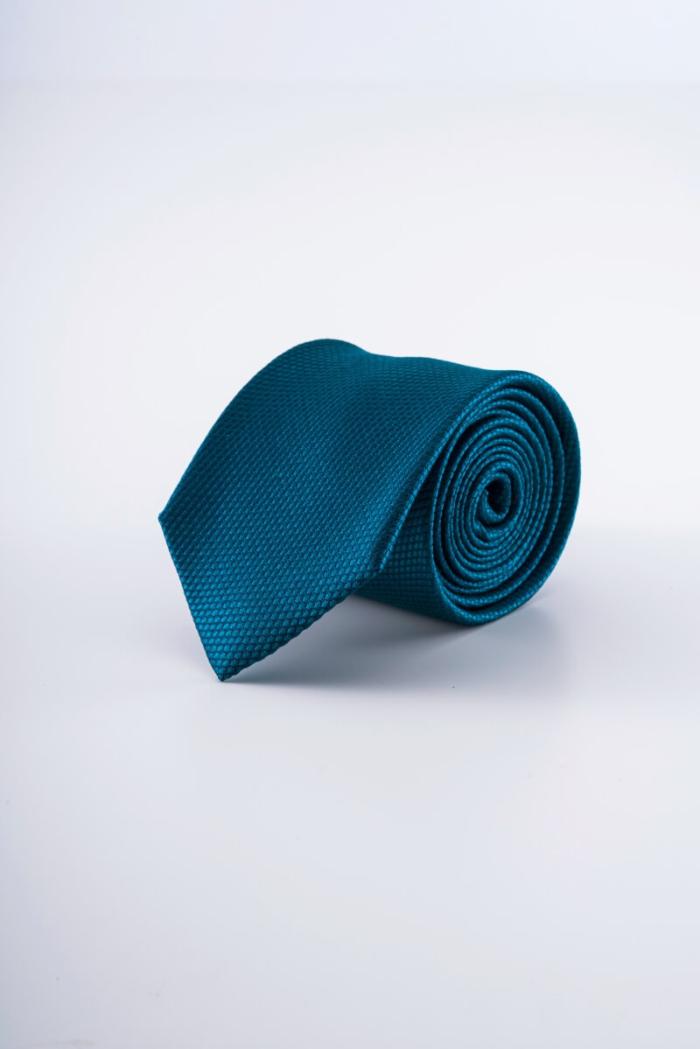 Varteks Smaragdno zelena kravata od svile