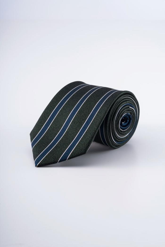 Varteks - Svilena kravata s prugastim uzorkom