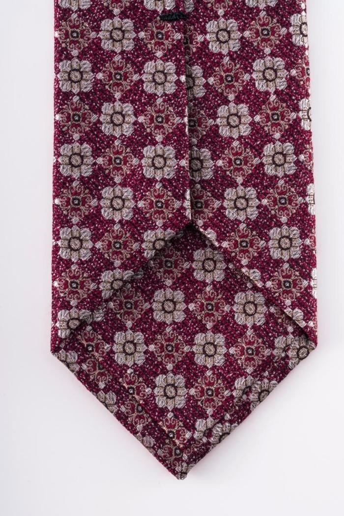 Varteks - Kravata cvjetnog uzorka u dvije nijanse