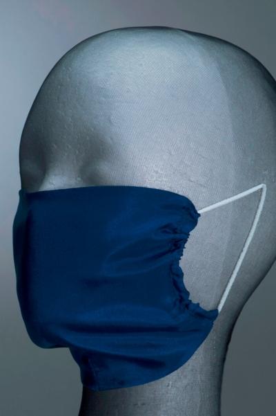 Svileni modni dodatak za lice u tri boje - veličina M