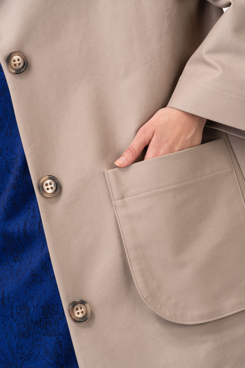 Varteks Ženski pamučni ogrtač beige boje