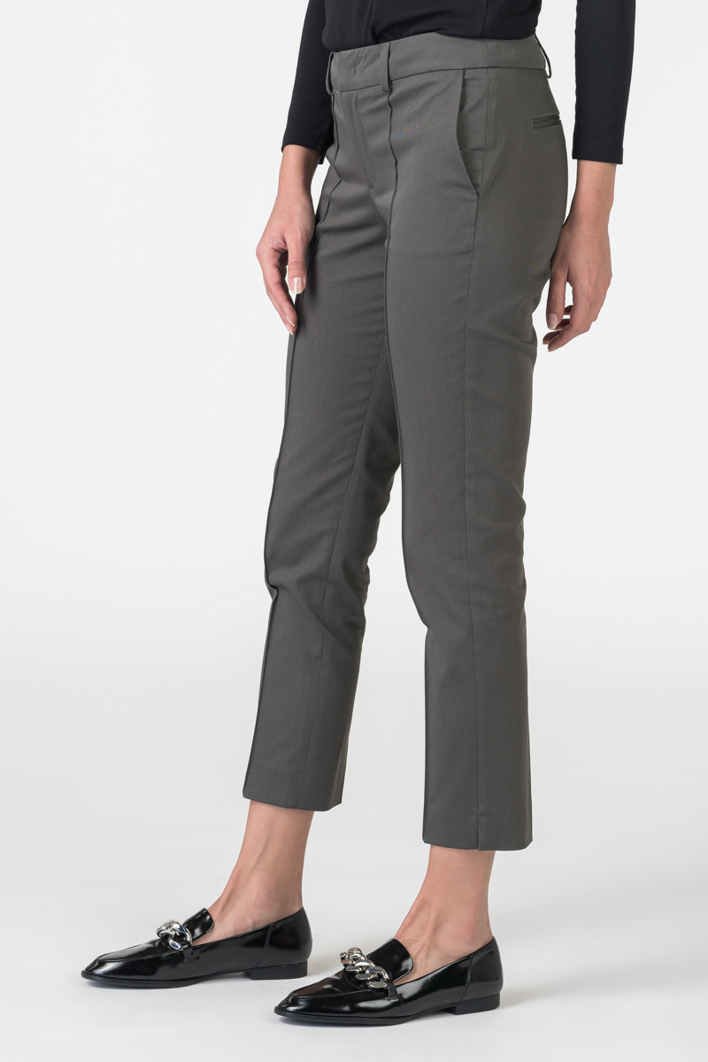 Varteks Women's olive green trousers