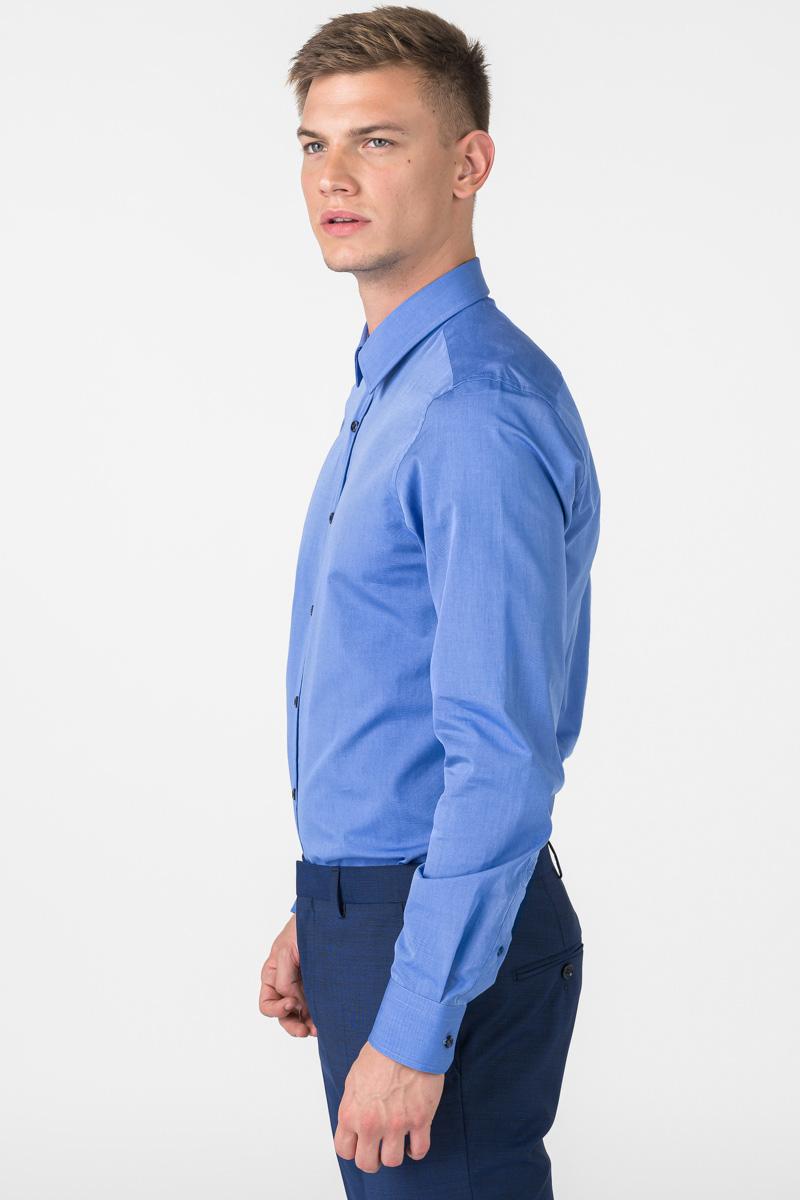 Varteks Muška plava košulja od pamuka - Regular fit