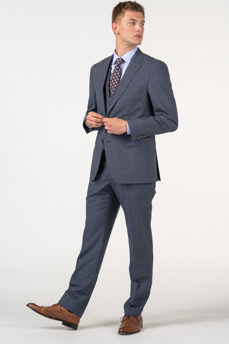 Varteks Decentno karirani muški sako od odijela - Regular fit