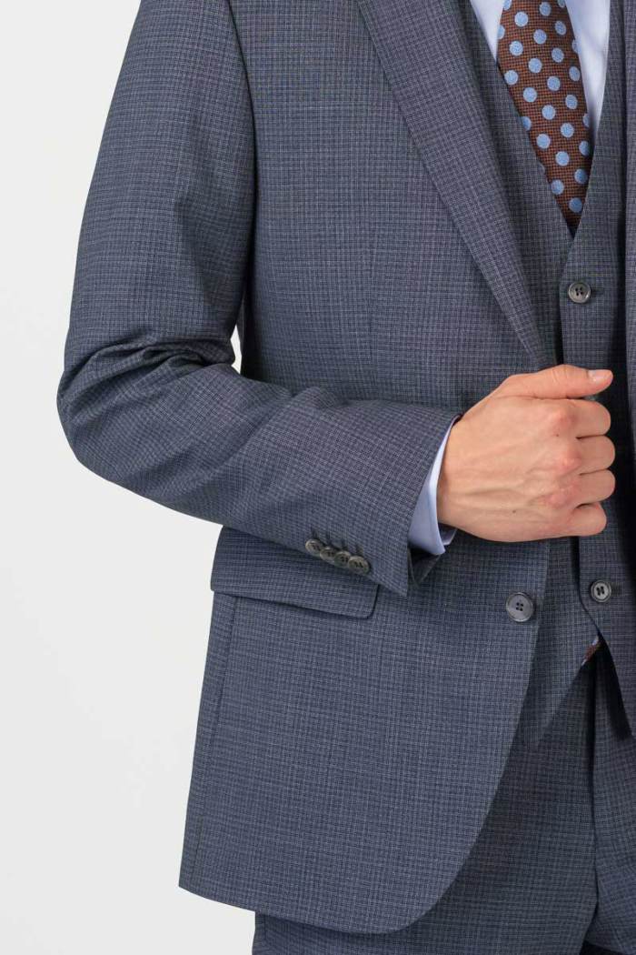 Varteks Decent plaid men's suit blazer - Regular fit