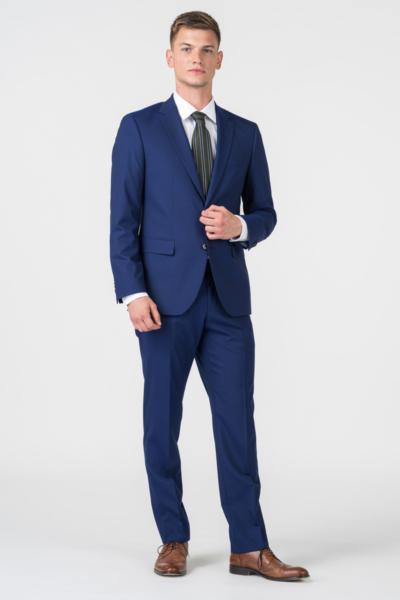 Varteks YOUNG - Hlače kraljevsko plave boje - Regular fit