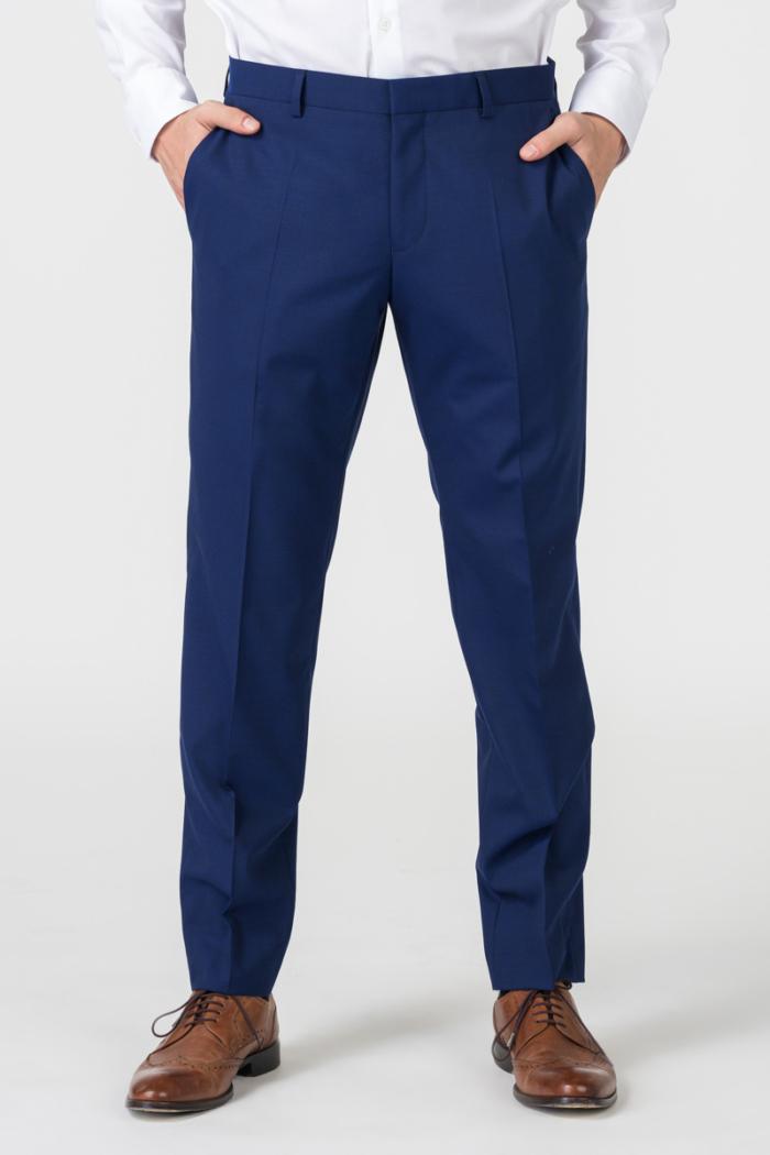 Varteks YOUNG - Royal blue trousers - Regular fit
