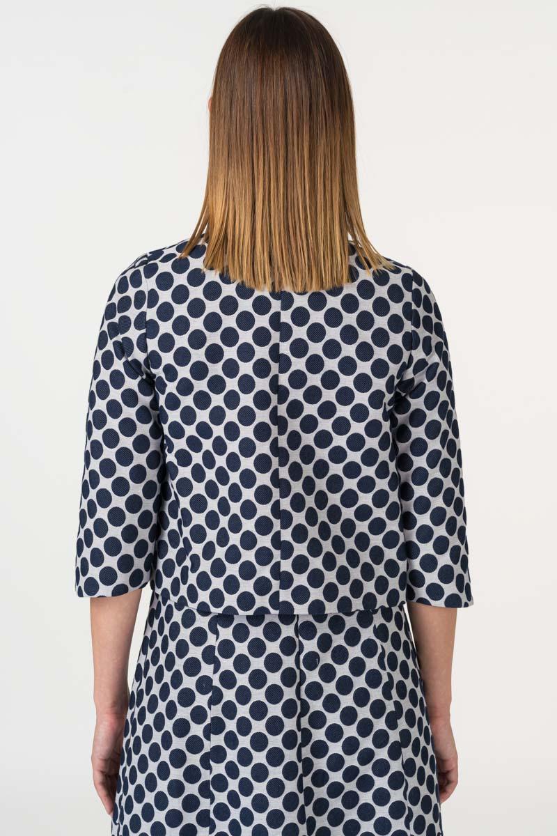 Ženski sako točkastog uzorka