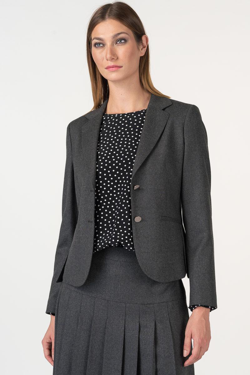 Varteks Ženski sako sive boje