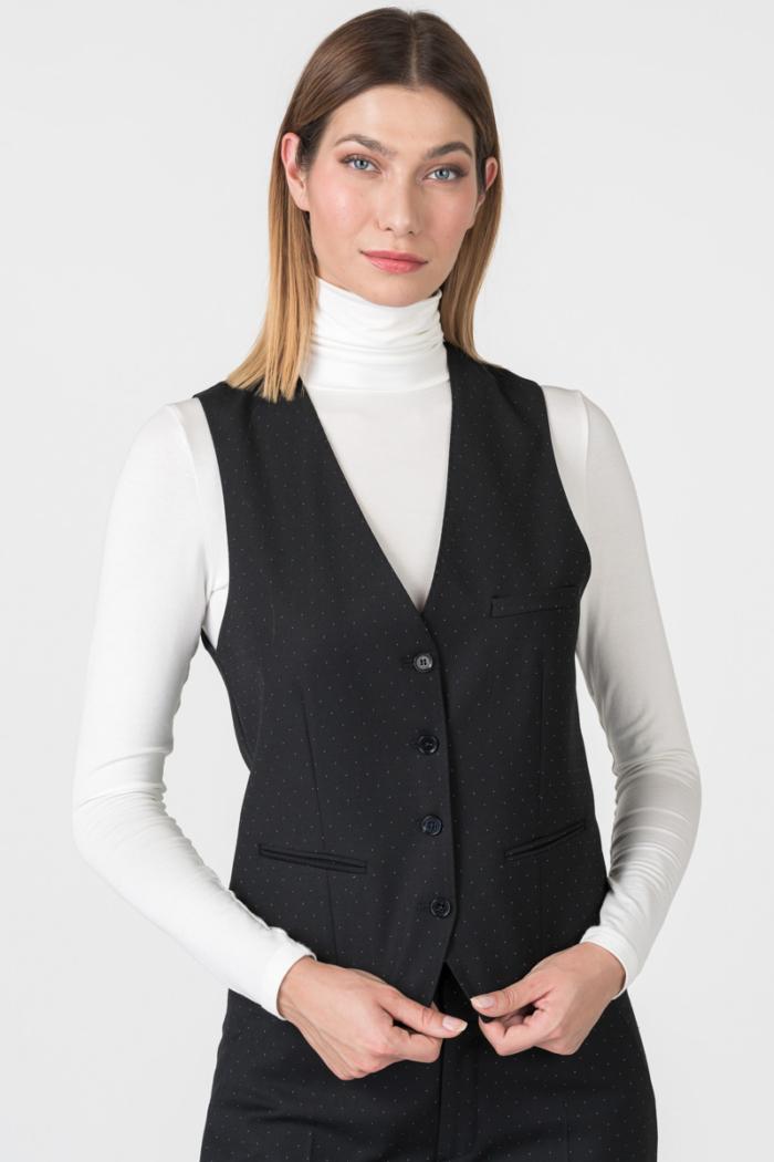 Varteks Women's polka dot waistcoat