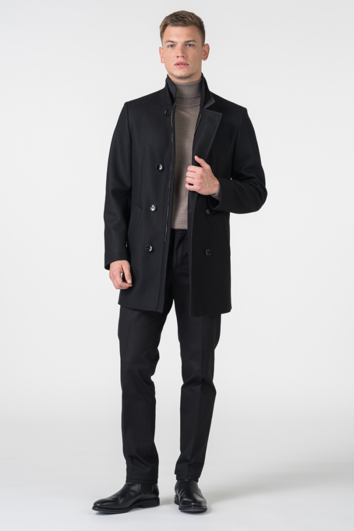 Varteks Zimski kratki crni kaput