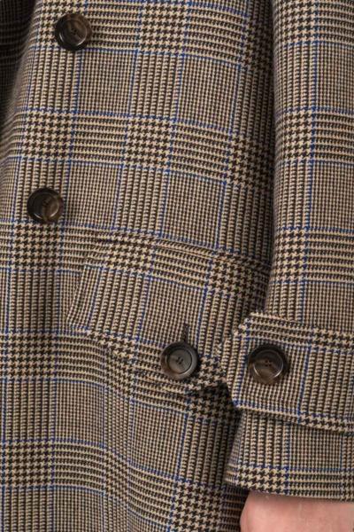 Varteks Prince de Galles long women's coat