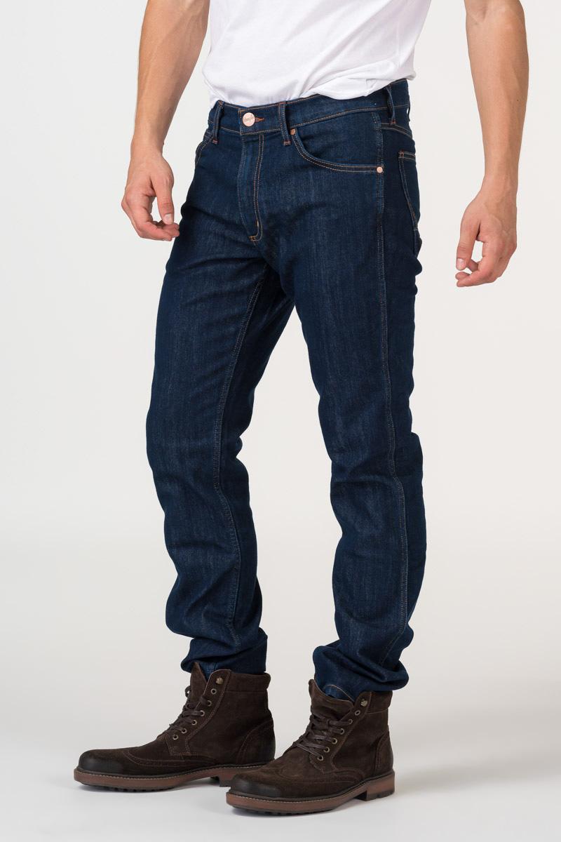 Varteks Men's dark blue jeans - Wrangler