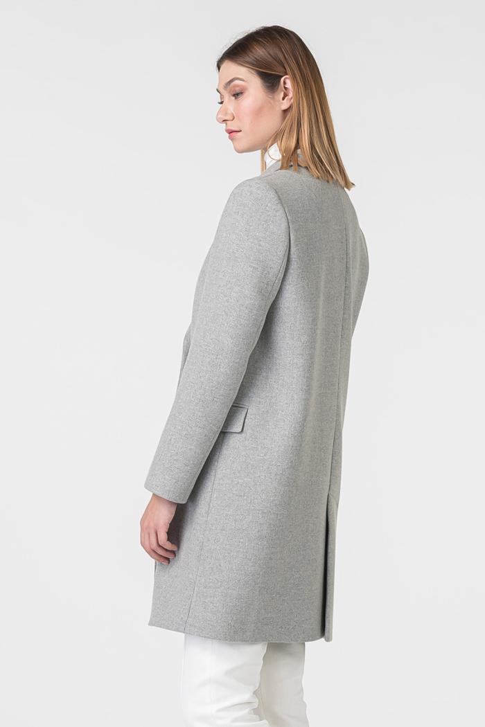 Varteks Women's grey double breasted coat