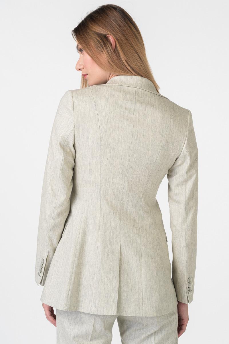 Varteks Limited Edition - Women's virgin wool and cashmere blazer
