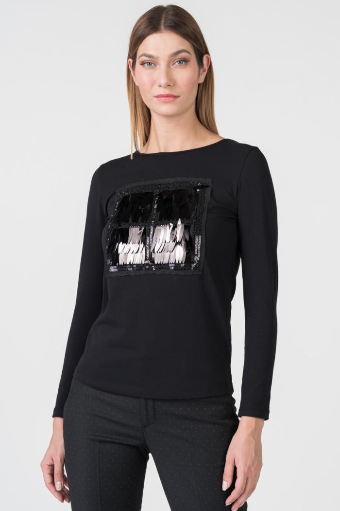 Varteks Pamučna majica s modernim detaljem