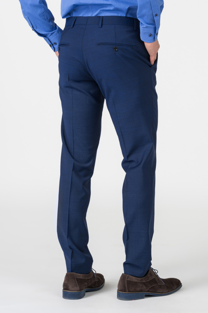 Varteks Men's blue suit pants