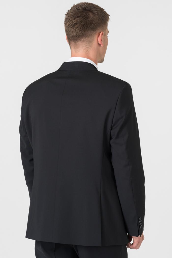 Varteks Klasični crni muški sako od odijela - Comfort fit