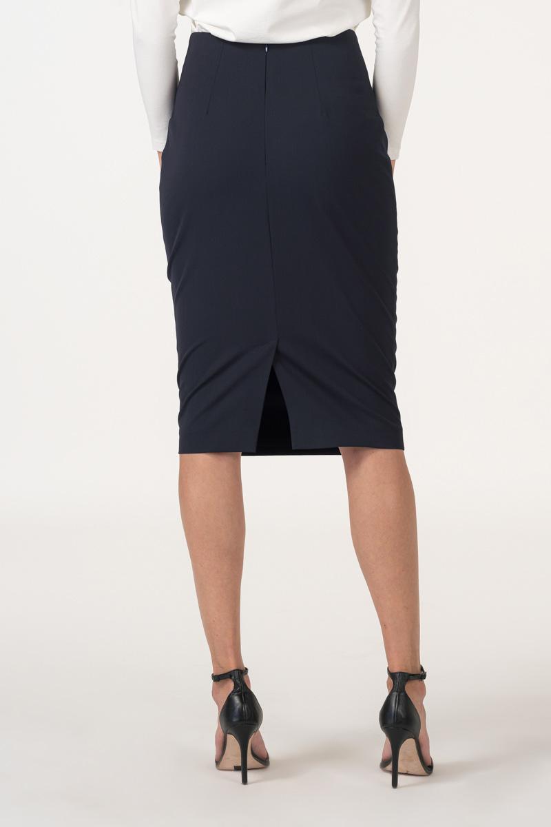Varteks Tamno plava pencil suknja