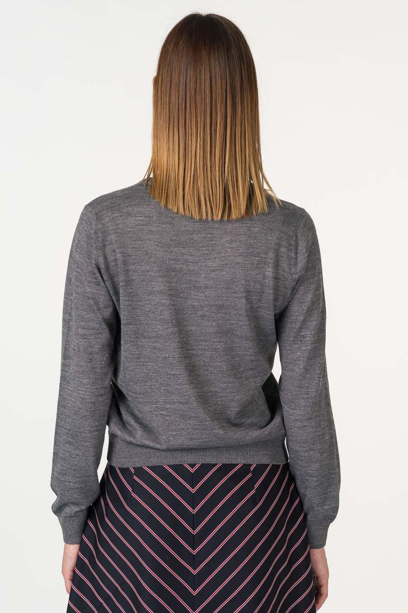 Varteks Sivi ženski pulover dugih rukava