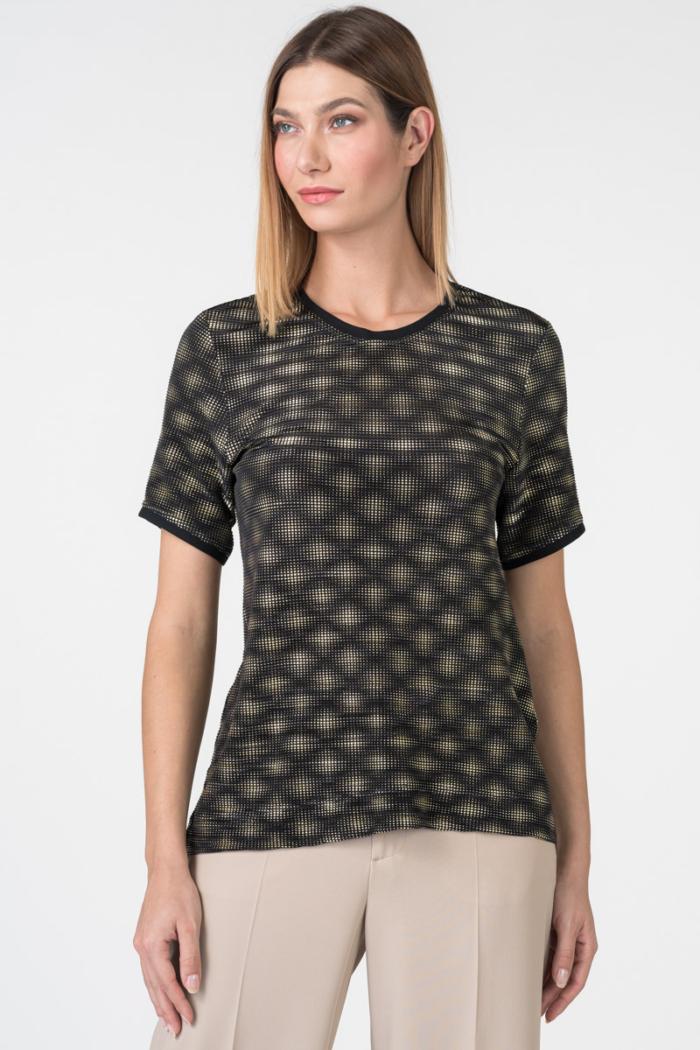 Varteks Golden black T-shirt