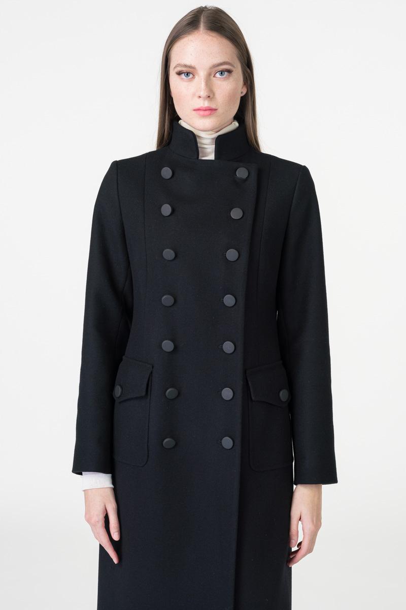 Varteks Ženski military kaput crne boje