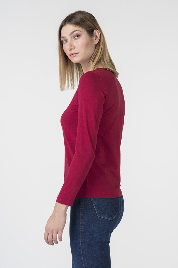 Varteks Women's long-sleeved T-shirt in four colors