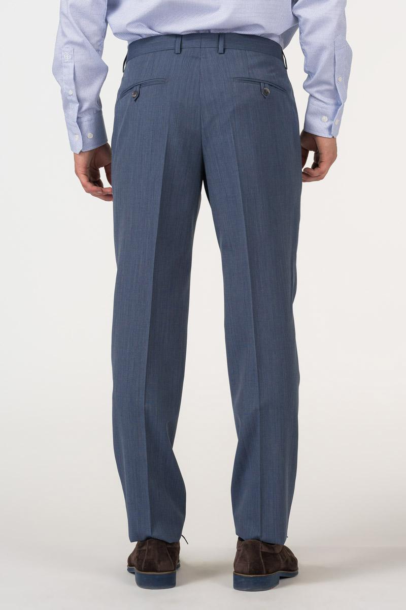 Varteks Muške hlače od odijela denim plave boje - Regular fit