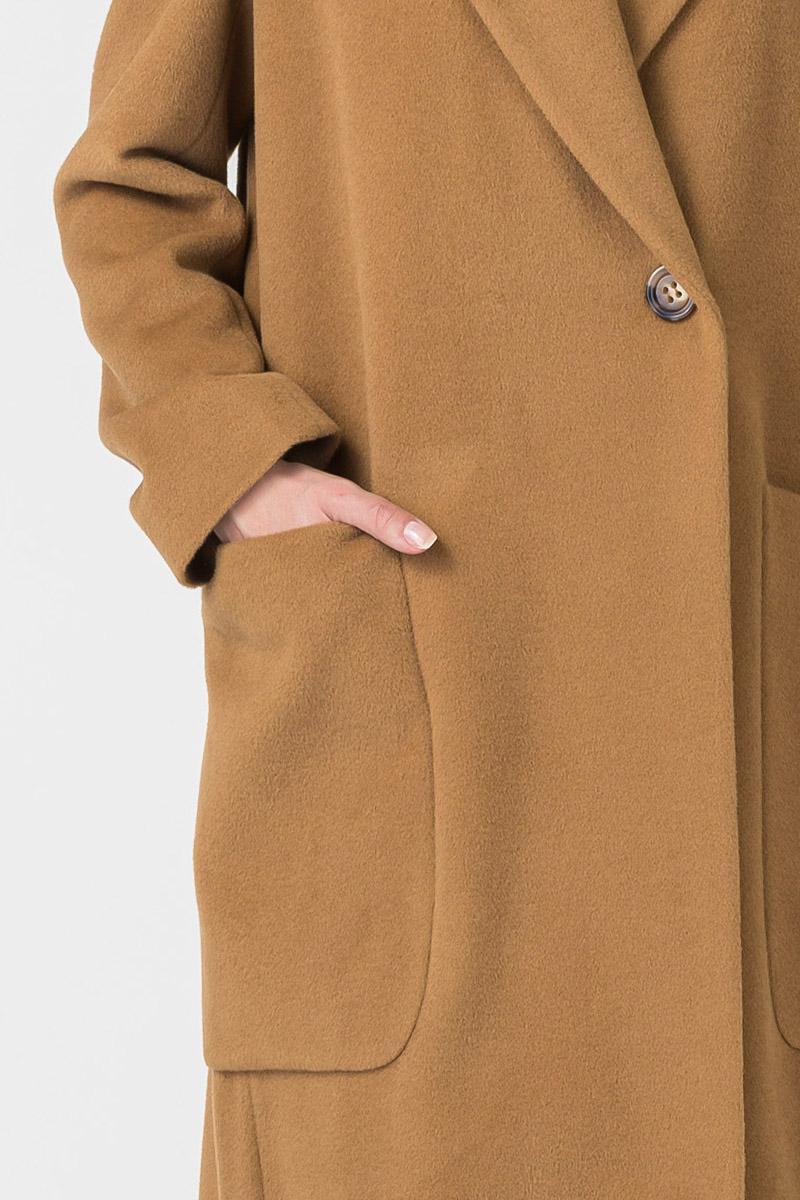 Varteks Dugi ženski kaput camel boje