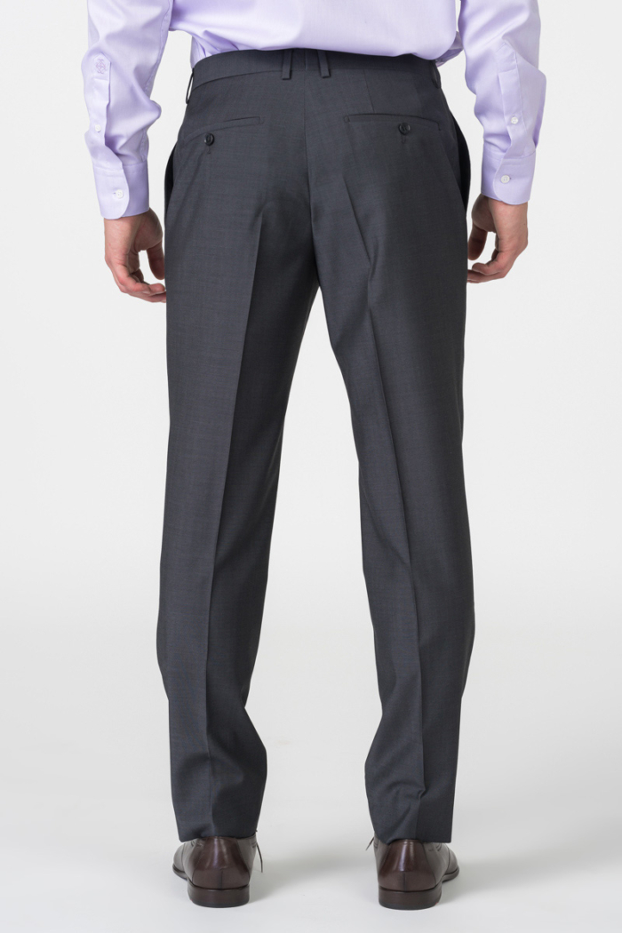 Varteks Grey men's suit pants - Regular fit