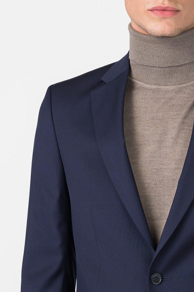 Varteks Muški tamno plavi sako od odijela - Slim fit