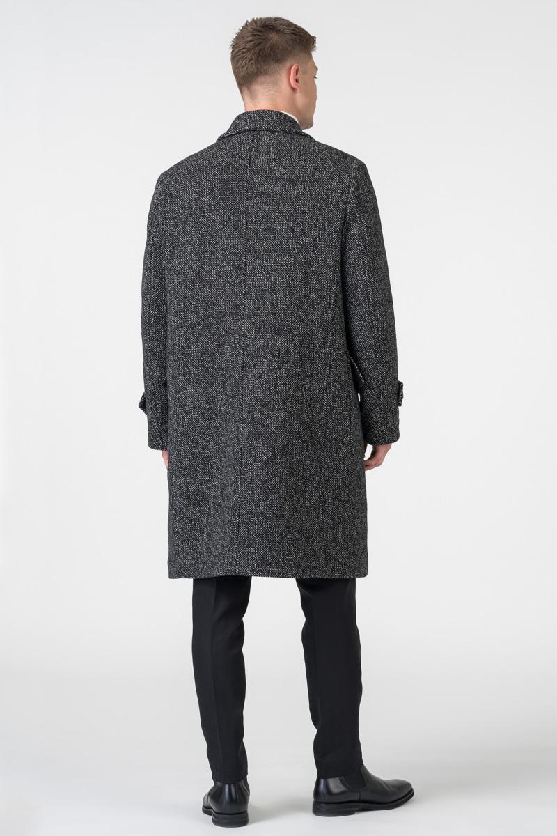 Varteks Men's winter virgin wool cotton in color black and white