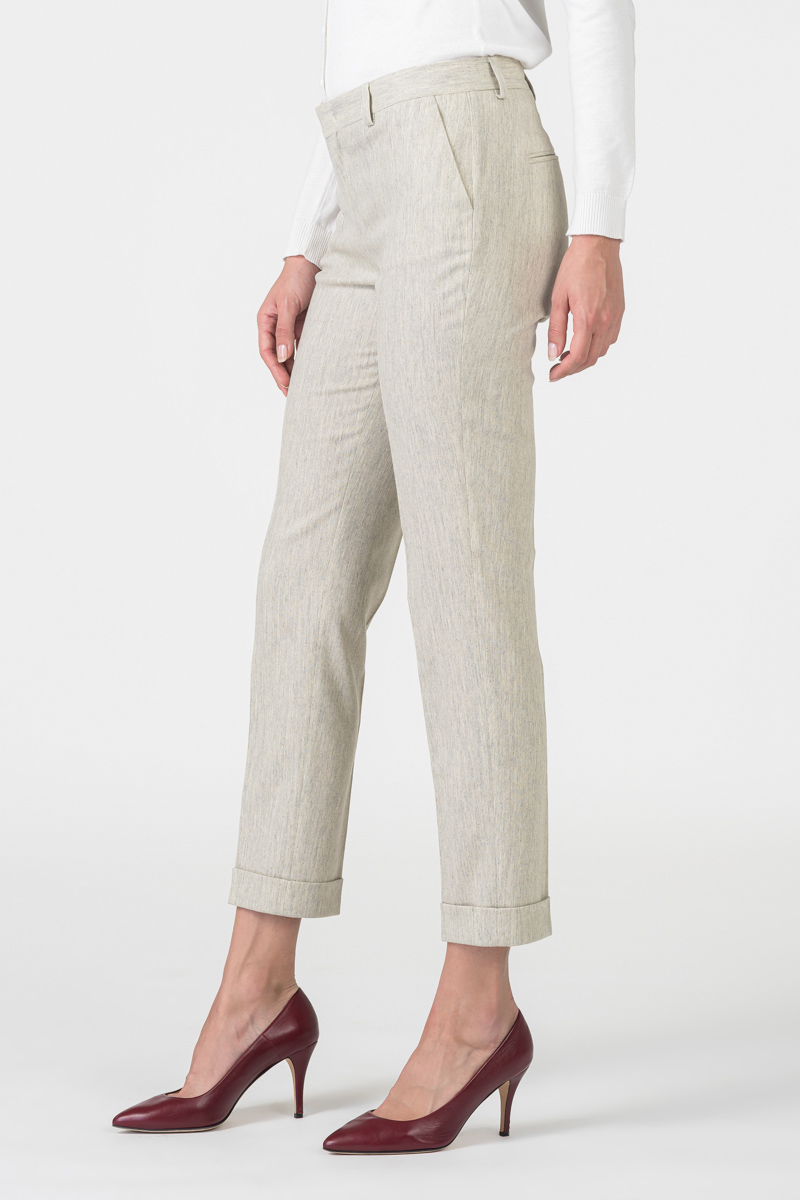 Varteks Limited edition - Women's virgin wool and cashmere trousers