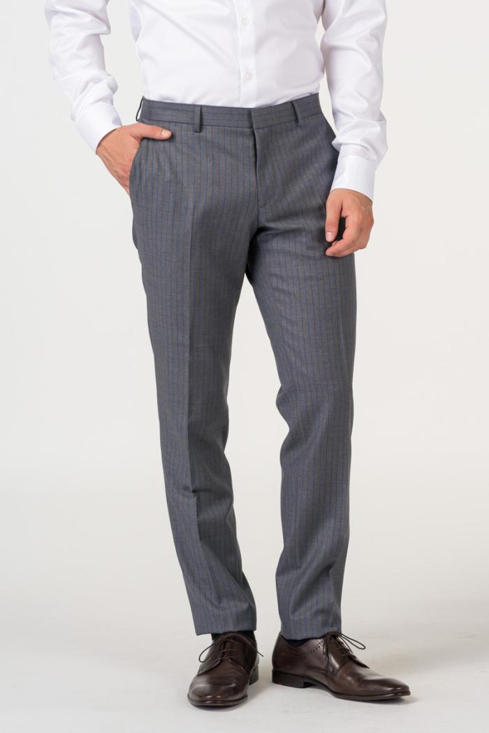 Varteks Mens suit with stripes in two colors - Slim fit