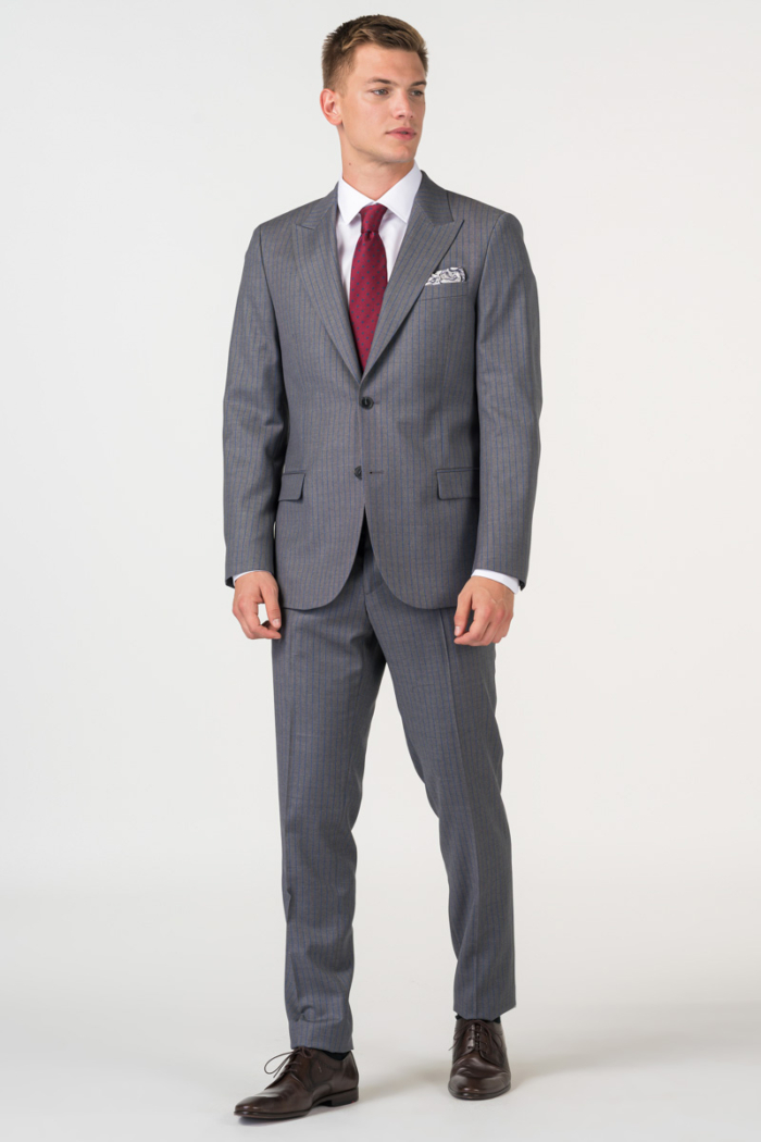 Varteks Muško odijelo s prugama u dvije boje - Slim fit