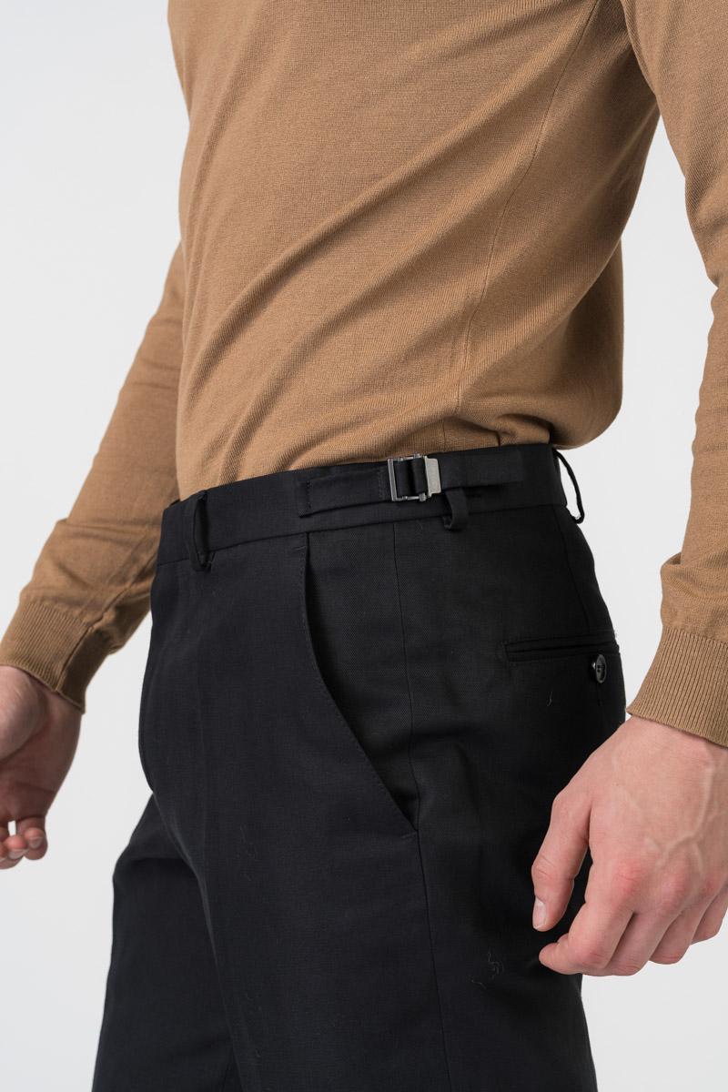 Varteks Crne muške hlače - Regular fit