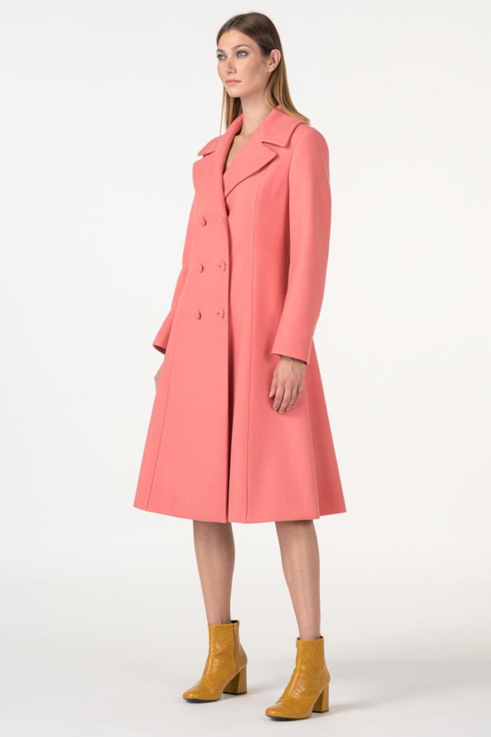 Varteks womens-coat-in-color-salmon