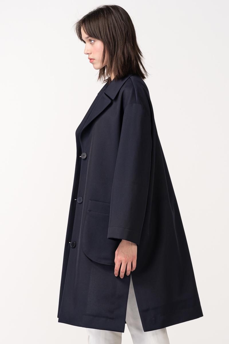 Varteks Ženski ogrtač tamno plave boje