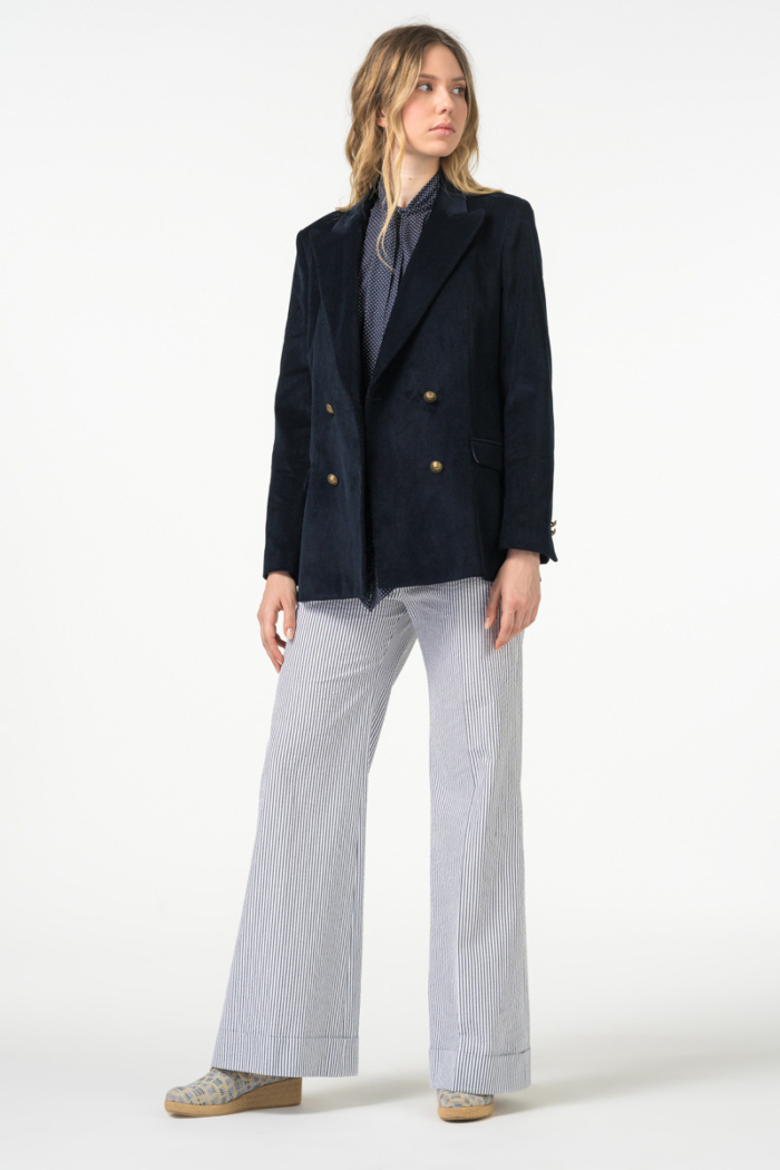 Varteks Women's cotton cord blazer