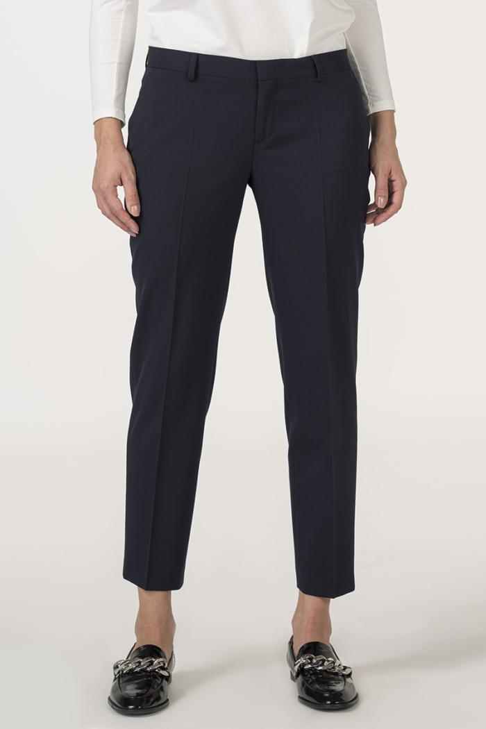 Varteks Ženske duge tamno plave hlače